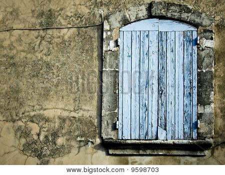 Old Rustic Window Background
