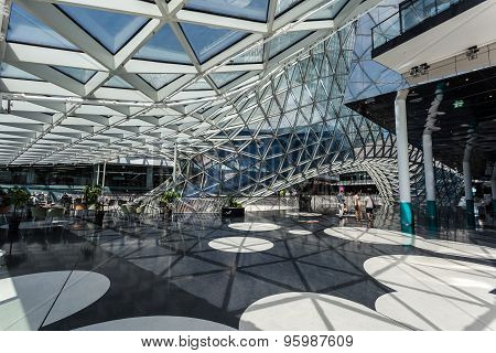 Shopping Mall Myzeil In Frankfurt, Germany