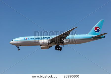 Boeing 777F Cargo Of The Korean Air Airline