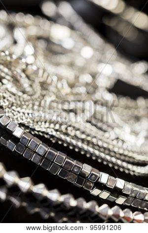 closeup of beautiful jewellry
