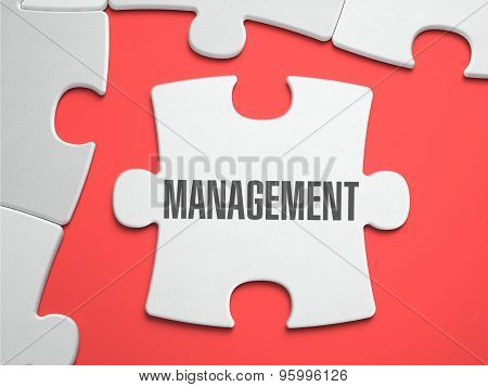 Management - Puzzle on the Place of Missing Pieces.