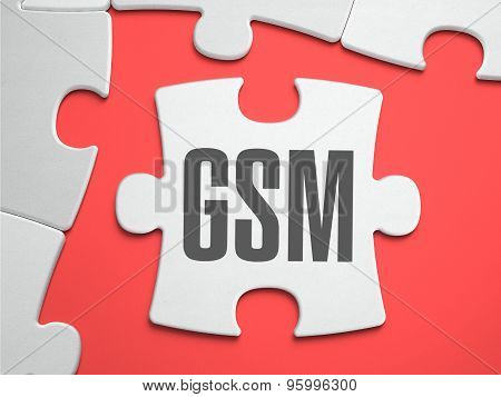 GSM - Puzzle on the Place of Missing Pieces.