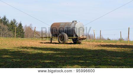Water cistern of a farm