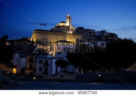 Ibiza In Night