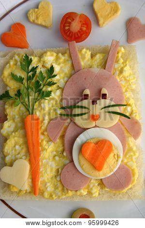 Creative bunny