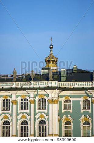 Russia. Petersburg. A winter Palace. (The Hermitage)