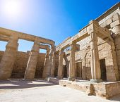 foto of mortuary  - Temple between the Valley of Kings and the Valley of Queens - JPG