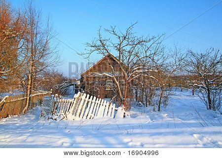 antigua casa de labranza