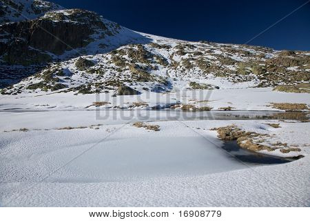 Ice And Snow Mountain