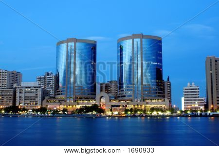 Twin Towers, Dubai Creek, United Arab Emirates