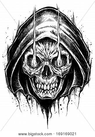 Grim Reaper drawing