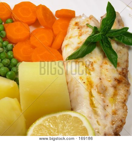 Grilled Fish Meal 2