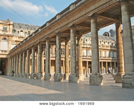 Stoa And Columns In Royal Palace, Paris3
