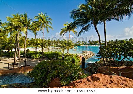 Beach At Paradise Island, Bahamas