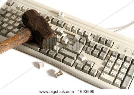 Smashed Keyboard