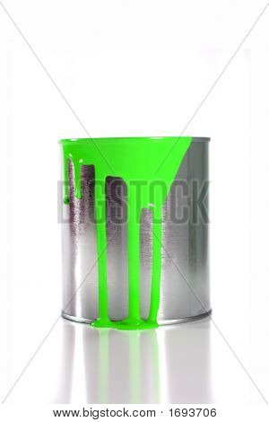 Paint Bucket Green