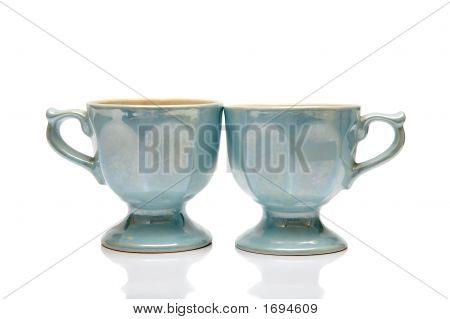 Two Nacreous Cups