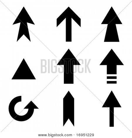 vector arrows collection