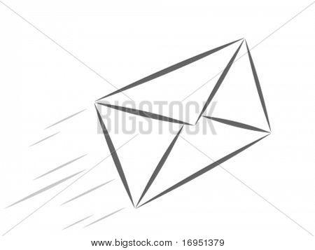 vector e-mail teken