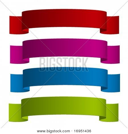 vector ribbons