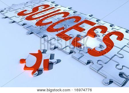 Success puzzle