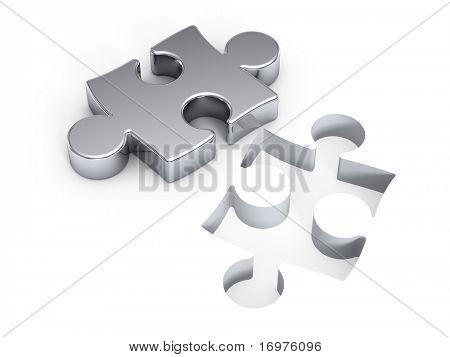 Silver puzzle