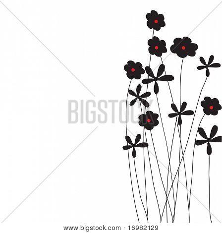 Floral Karte