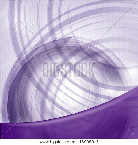 Futuristic violet background