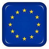Постер, плакат: Вектор ЕС флаг