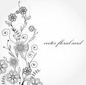 picture of wedding invitation  - Flowers - JPG