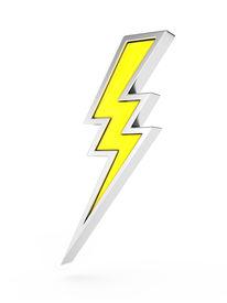 pic of lightning bolt  - lightning bolt symbol - JPG