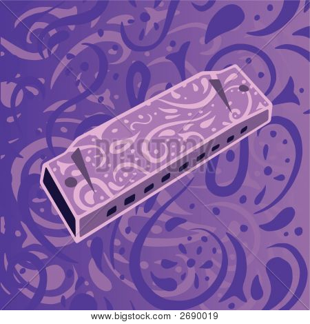 Country Music Background - Harmonica