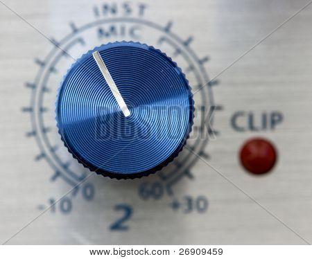 Volume adjustment knob