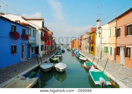 Island Burano, Venice, Italy