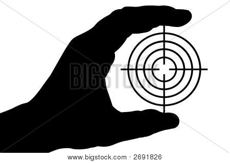 Hand With Target