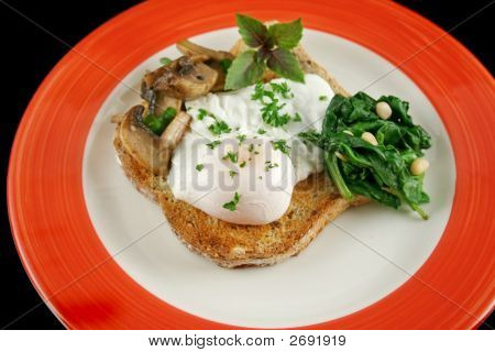 Poached Egg Breakfast 1