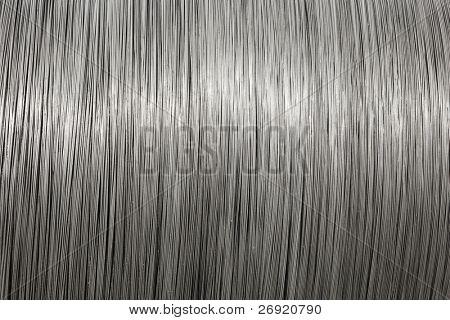 aluminum wire spool texture
