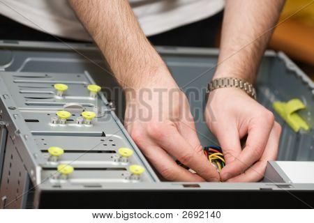 Hands In Computer