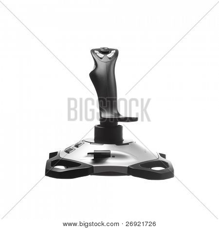 joystick isolated on white