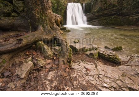 Janets Foss Waterfall,Malham