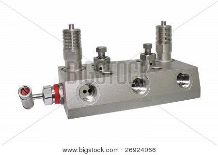 Block manifold.
