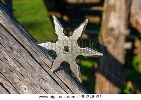 Shuriken throwing Star Traditional Japanese