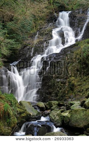 Torc waterfall in Ireland