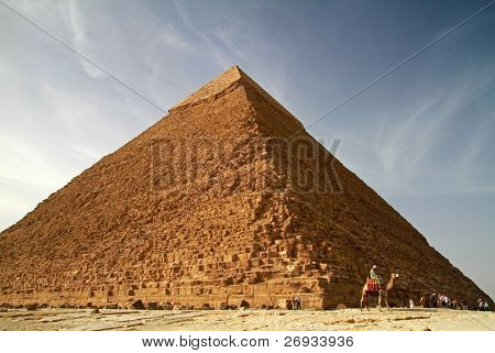 Pyramid of Khafre in Giza
