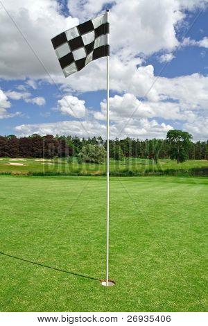 Bandeira de golfe