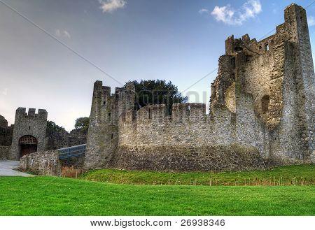 HDR of Adare Castle - Ireland