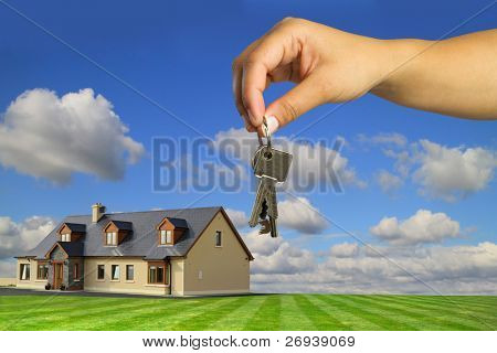 Keys to new dream house