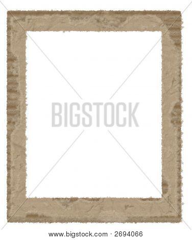 Torn Cardboard Frame