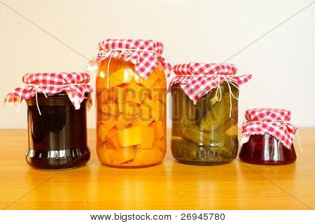 Pickles and jams