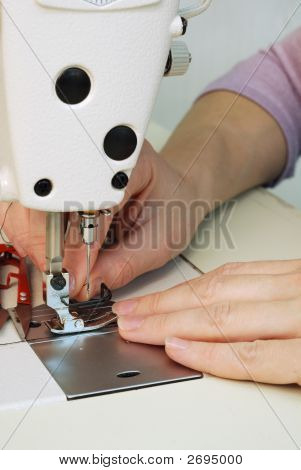 Work In Sewing Shop